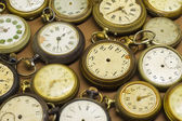 Antique clocks — Stock Photo