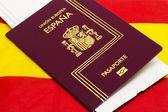Spanish passport — Stock Photo