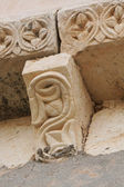 Romanesque sculpture — Stockfoto