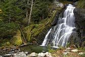 Waterfall in the Fall — Stock Photo