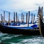Gondola in venice, italy. closeup — Stock Photo #39145189