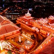 Buddhist temple on chinese new year celebration — Stock Photo