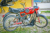 Old timer motorbike. kreidler florett in hdr — Stock Photo