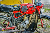 Old timer motorbike kreidler florett in hdr — Stock Photo