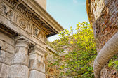 Detail of an ancient ruin — Stock Photo