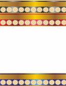 Colorful frame for photo — Vetorial Stock