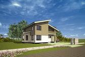 Casa pequeña — Foto de Stock