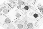Hong Kong dollars Ortho film Effecth — Stock Photo