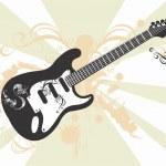 Guitar — Stock Vector #43732661