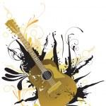 Guitar — Stock Vector #43946149