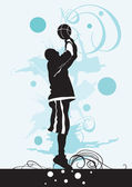 Basketball — Vector de stock