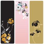 Banners florais — Vetorial Stock