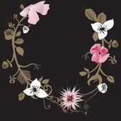 Fond floral — Vecteur