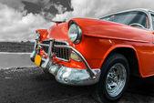 Oude Amerikaanse auto — Stockfoto
