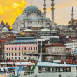 Abendstimmung am Bosporus in Istanbul — Stock Photo #39592401