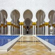 Shaik Zayed Moschee in Abu Dhabi — Stock Photo