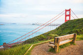 Golden Gate Brücke in San Francisco — Stock Photo