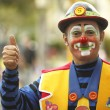 Clown at carnival — Stock Photo