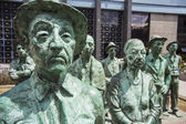 Statuenvor the Central Bank of Costa Rica — Stock Photo