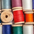Stock Photo: Coils of color thread