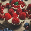 Berry tartlets — Stock Photo #40714997