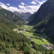 Stock Photo: Pitztal Valley in Tirol