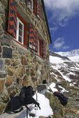Mountain Hut — Stock Photo