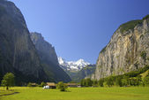Lauterbrunnen Valley — Stock Photo