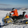 Snowmobile — Stock Photo #41240775