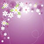 Постер, плакат: Floral background