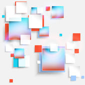 Abstract background cubes — Stock Vector