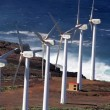 Stock Video: Wind Power Plant, Power Generator, Tenerife (Landscape)