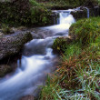 Stock Photo: Mountain River Long Exposure