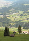 Scenic view of Insbruck in the austrian Alps — Stockfoto