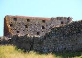 Inside Hammershus Castle ruin at Bornholm — Stock Photo