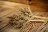 Wheat on the table — Stock Photo