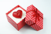 Corazon en caja 2 — Stock Photo