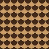 Pine cone Seamless Texture — Stock Vector