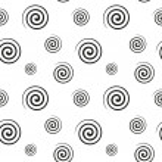 Spiral monochrome seamless texture — Stock Vector #48726927