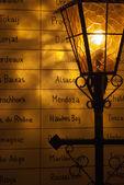 A vintage street light — Foto Stock