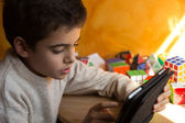 Child and new technologies — Stock Photo