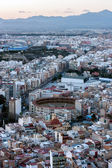 Alicante at sunset — Stock Photo