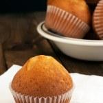 Homemade golden muffins — Stock Photo #47002399