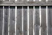 Old grey wooden fence — Stock Photo