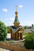 古い木造の教会 — ストック写真
