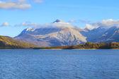 Mountain and lake view — Stock Photo