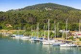 Porto di barche a vela — Foto Stock