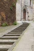 Narrow alley — Stock Photo