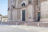 Orvieto fassade des domes — Stockfoto