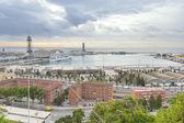 Barcelona port — Stock Photo